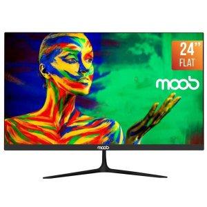 Monitor LED 24 MOOB Bordas Ultra Finas 2ms Preto