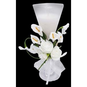 Vela Decorativa Mini 15 Anos Festa Flor Enfeite 150 Unidades