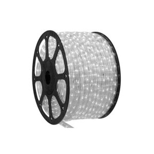 Mangueira Led redonda 2m Branco Frio + conector