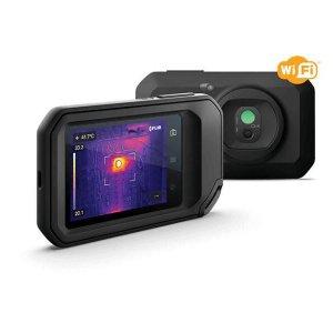 Câmera Termográfica Compacta 128 x 96 (12.288 pixels) c/MSX e Wi-Fi (-20 a 300 °C) Ignite™ Flir