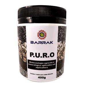 Barrak P.U.R.O Composto de Filtragem alta eficiência 400g