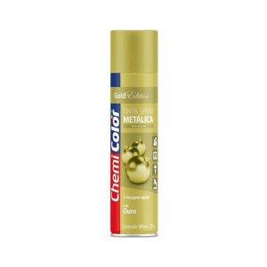 Tinta Spray Metálica Ouro 400 ml Chemicolor