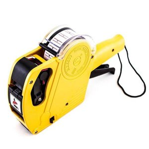 Etiquetadora Manual Mx5500 8 Dígitos amarela tinta Etiquetas