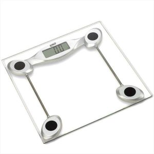 Balança Digital Corporal até 200kg Precisão G-Tech Vidro Temperado Crossfit Banheiro Academia Glass