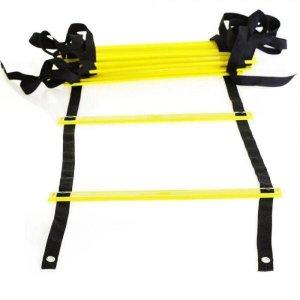 Escada De Treinamento Funcional 10 Degraus Amarela- Shydori
