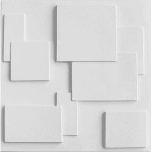 Revestimento 3D Para Parede 50X50Cm Quadratto