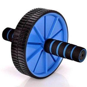 Rolo Roda Abdominal Exercicio Azul Academia Musculacao