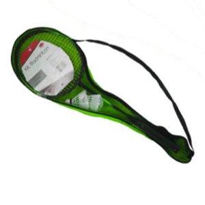 Jogo Kit Raquete de Badminton com 2 raquetes e 2 Petecas