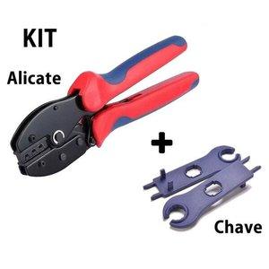 Alicate P/ Crimpar Conector MC4 + Chave Aperto MC4