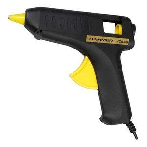 Pistola Cola Quente Silicone 60W Bivolt Inmetro Hammer
