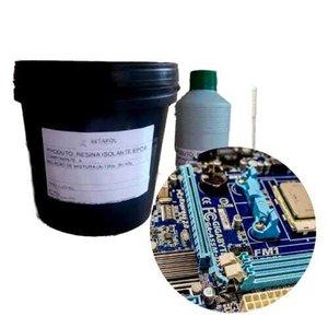 Resina Isolante Epóxi para Circuitos, Muflas, Condensadores - Preto