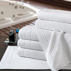 Jogo Toalhas Hotel Com 1 Toalha Banho 1 Toalha Rosto Premium