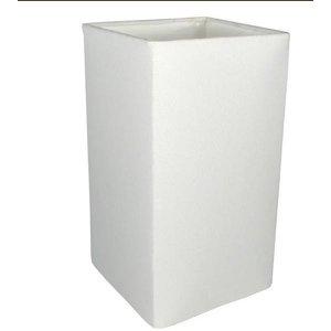 Cúpula Para Abajur Tecido Ref 49 - Cúpula Branca