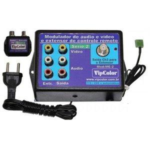 Extensor de controle remoto com modulador RF integrado