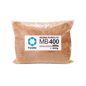 Resina Mista Purolite Mb400 Para Deionizador 1kg 1.5 Litros - Laranja
