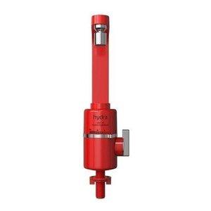 Torneira Elétrica Parede Ou Bancada Slim 4t 5500w Hydra - Vermelho Bancada - 220