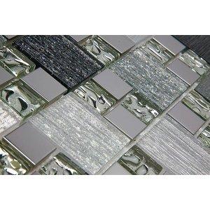 Pastilha de Vidro com Metal Modulare Especial RB 145063