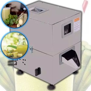 Garapeira Inox Elétrica Engenho Moedor Caldo de Cana Com 3 Moendas Inox - 220v