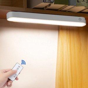 Barra de luz led sem fio toque e controle remoto para leitura escritório. quarto. sala