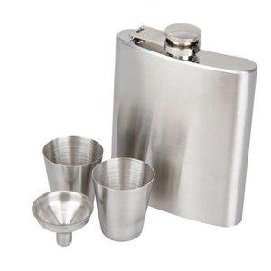 Kit Cantil Porta Bebida 210 Ml Com Funil 2 Copos