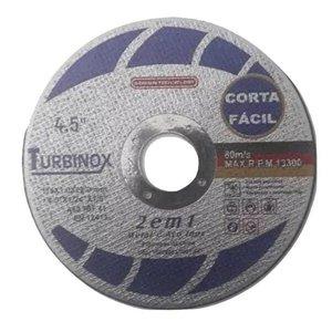 Disco De Corte Fino Inox/Ferro 4.1/2 Turbinox 100 un