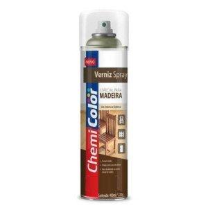 Verniz Spray Para Madeira Imbuia 400Ml Chemicolor