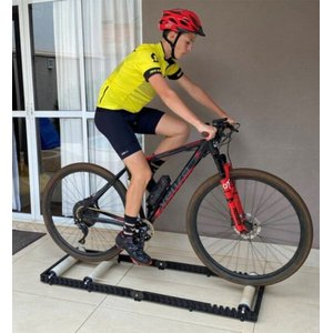 Rolo De Treino Para Ciclismo Portátil E Bolsa De Transporte