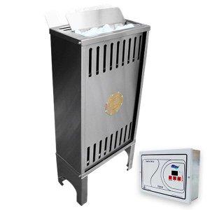 Sauna Seca Elétrica 7,5kw trifasico 220v Impercap