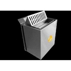 Sauna Seca Elétrica 9kw trifásico 220v