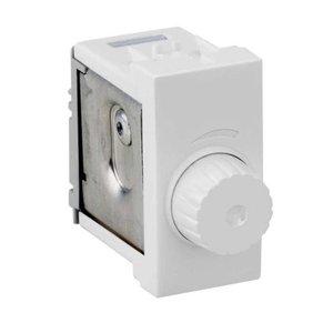 Dimmer Variador de luminosidade rotativo 127 V branco Simon 35 p/ lâmpada incandescente - 127V
