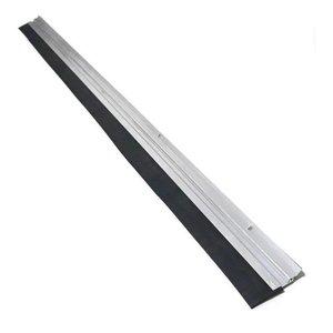 Friso Vedador De Aluminio Para Porta De Madeira Ferro 80cm