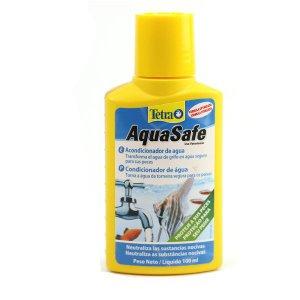 Tetra Aquasafe 100 Ml - Neutraliza Cloro E Metais Pesados