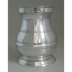 Recipiente estilo pilão em Estanho - kit caipirinha 1 peça (P442) - Polido