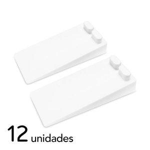 Trava Portas De Piso Kit 12 Peças Comtac Kids 4156