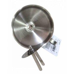 Funil Mestre Cuca Inox Com Peneira Ø10,5 X 11 Cm
