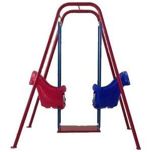 Balanço Infantil Duplo C/ 2 Bancos Baby Brink Playground