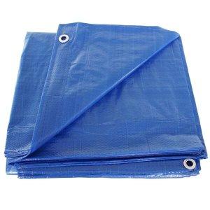 Capa lona azul piscina cobertura tela lago 300 micra 7x4