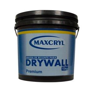 Massa p/ Drywall 15Kg - Maxcryl