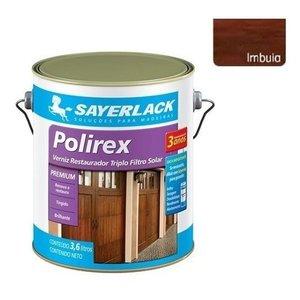Verniz Polirex Brilhante Restaurador Imbuia 3,6l Sayerlack:Imbuia/Brilhante