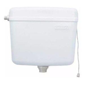 Caixa De Descarga Plástica Sem Engate Alumasa Diversas Cores:Branco