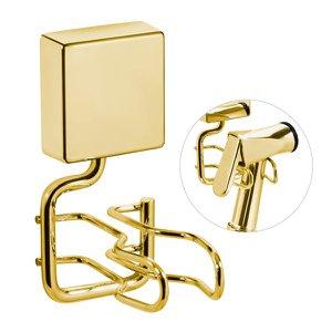 Suporte Chuveirinho Ducha Higiênica Fixação Parafusos - Wp - Dourado