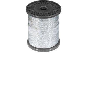 "Cabo de Aço Plastificado, Alma de Fibra, 2,38 mm 3/32"", 6 x 7, Vonder"