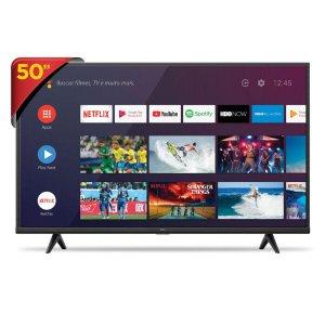 """Smart TV LED 50"""" TCL P615 4K UHD HDR com Wifi e Bluetooth, 3 HDMI, 2 USB, Comando de Voz Unica"""