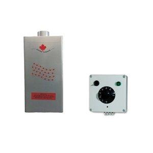 Sauna Úmida Gerador Vapor Gas Glp 18m3 Acendimento Automático Controle Temperatura Analógico Bivolt