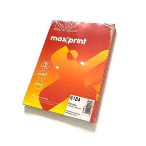 Etiqueta 6184 Ink/Las 101,6X84,7Mm 100Fls Maxprint