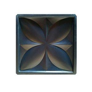 Molde Abs 2mm Para Placas Gesso 3d Modelo Flor De Lis 39x39