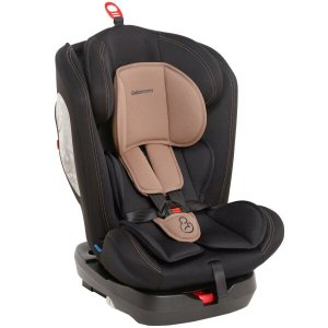 Cadeirinha Infantil para Auto Isofix Reclinável 360° Grupos 0,1,2,3 A Partir de 0 a 36kg - - Preto C