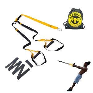 Fita Aparelho Treino Funcional Suspenso Kit Tipo Trx - Amarelo