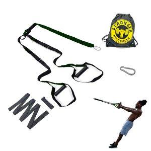 Fita de Treinamento Suspenso Tipo Trx -Treine em Casa - Profissional - Kit Completo Regulagem por -
