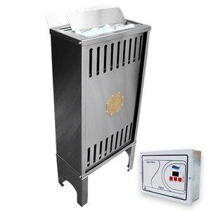 Sauna Seca Elétrica 6kw Inox Trifásica 220v Impercap